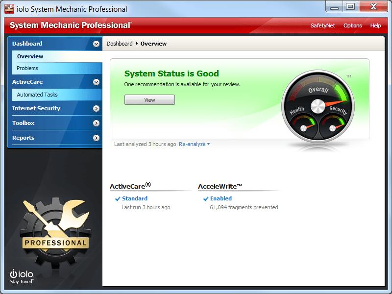 10-iolo system optimizer بهینه ساز ویندوز