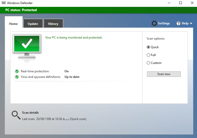 windows defender cheyab.ir